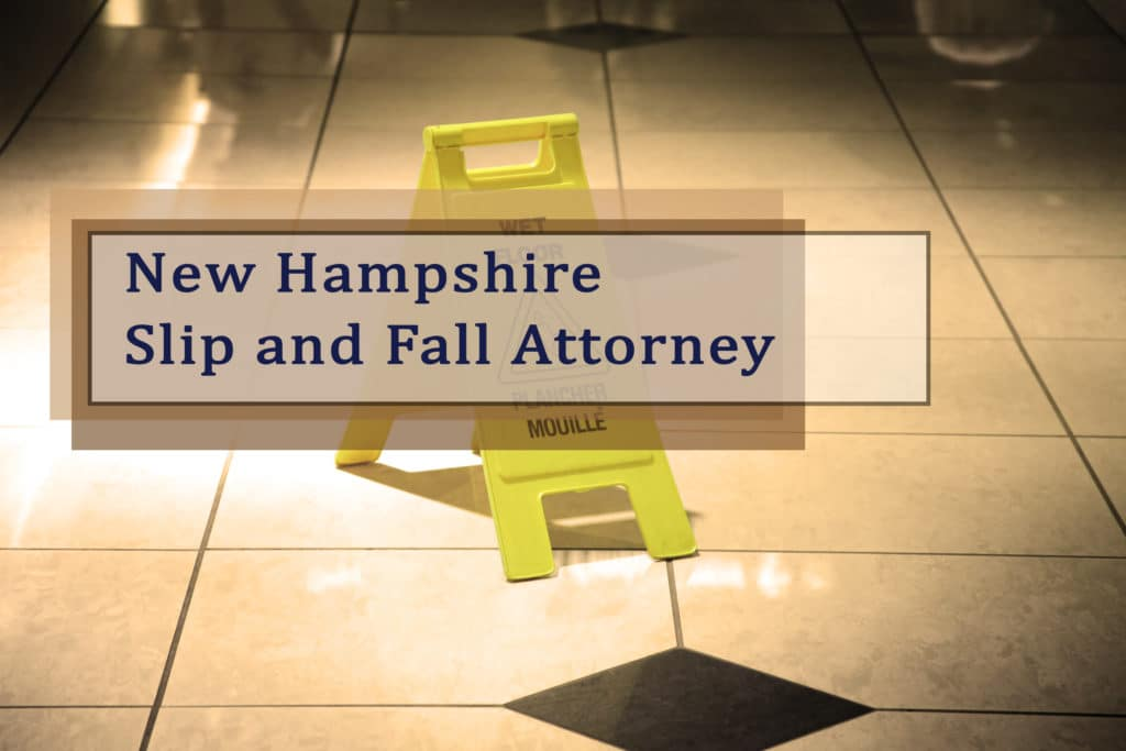 Call Broderick Law Firm, LLC and get a New Hampshire slip and fall injury attorney today - 978-459-3085