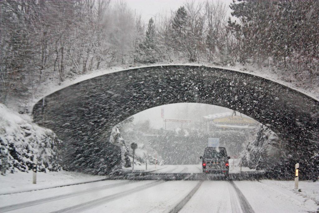 massachusetts winter driving